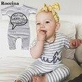 2017 Nova Marca de Verão Do Bebê Romper para o Bebê Da Menina do Menino roupas de Algodão de Mangas Curtas Macacão de Bebê Roupa Dos Miúdos Roupas Bebes traje