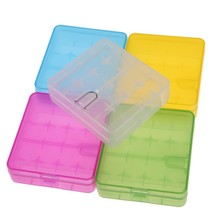 GTF 18650 Battery Box Portable Plastic Storage Case Holder For 4 x 16340 Hard Container