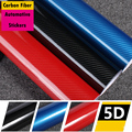 Car-styling Car Stickers For Volkswagen Mercedes Bmw Toyota All Brand Models Accessories Interior Automotive 5D Carbon Fiber