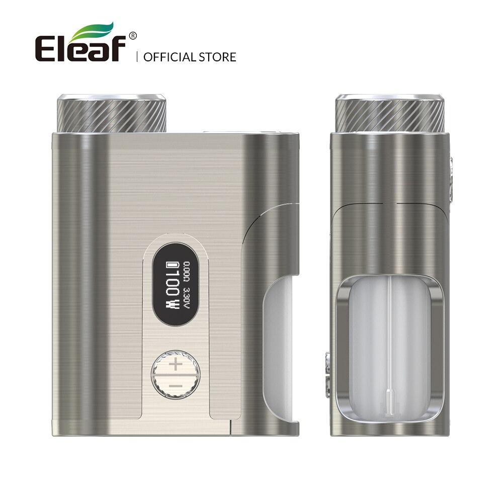 Original Eleaf Pico exprimidor 2 mod 100 W con 8 ml e-liquid botella caja mod cigarrillo electrónico mod caja - 6