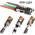 Luz brinquedo de plástico sabre de luz de Star Wars sabre de luz 87 CM cavaleiro Jedi Cosplay de Star Wars brinquedo espada Laser