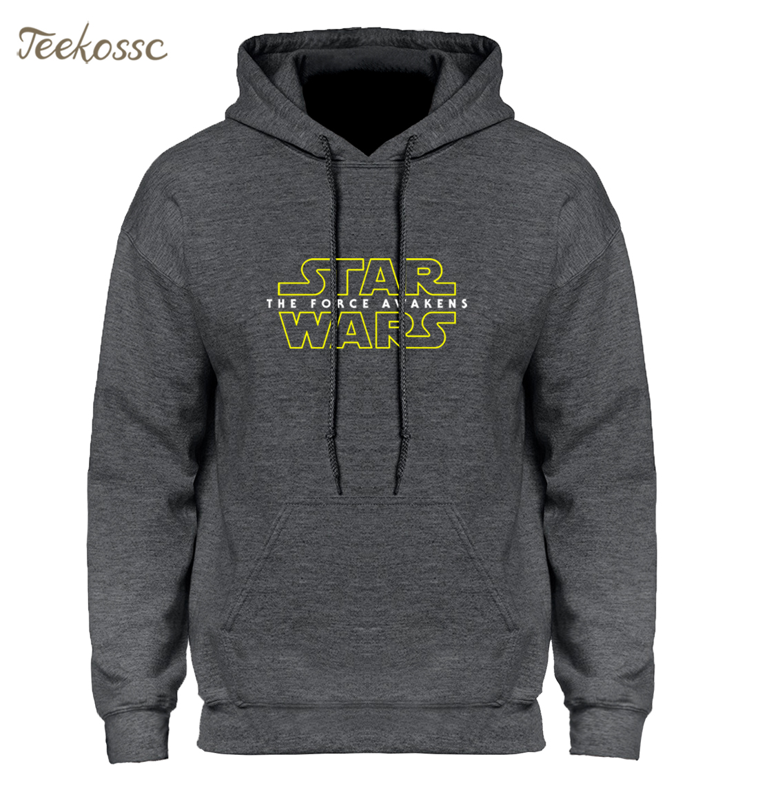 Star Wars Men Hoodie Hoodies Sweatshirt Mens 2018 Winter Autumn Hooded Hoody Fleece High Quality Harajuku Black Tracksuit Male