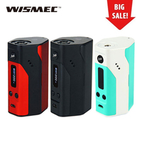 Big Sale! WISMEC Reuleaux RX200 TC Express Mod TC/VW Mode Temp Control Vaping E Cig Rx200 Mod No 18650 Battery Vs Rx300 Original