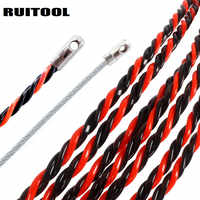 Dispositivo de roscado electricista 10/15/20/25/30/50M Extractor de cables Dispositivo de plomo herramientas manuales para electricistas