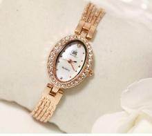 FA1272 Women Watche Luxury Crystal Bracelet Gemstone Wristwatch Dress Watches Women Ladies Gold Watch Fashion Female