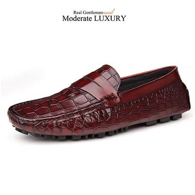 Grimentin Uomo Loafers Brown 201 Italian Fashion Genuine Casual Pelle Uomo Shoes 201 Brown a87f18