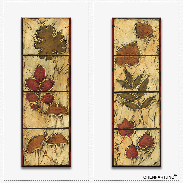 2 panels canvas set print on canvas wall painting decorative flowers Vertical  wall art home 2