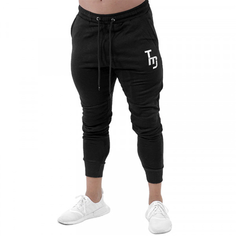 2018 High Quality Jogger Pants New Men Gyms Fitness Bodybuilding Pants For Runners Brand Clothing Autumn Sweat Trousers Britches