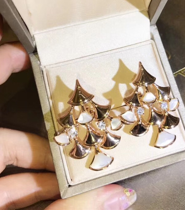 Brand party Jewelry Set For Women diva dream Necklace smakk shell Earrings Set Cubic Zirconia mother of pearl fan Party Jewelry