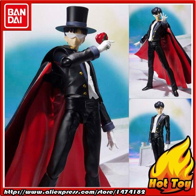 100% Originale BANDAI Tamashii Nazioni S. H. Figuarts (SHF) Action Figure-Tuxedo Mask da