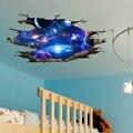 [SHIJUEHEZI] universo Galaxy 3D pared pegatinas DIY espacio exterior de la Vía Láctea de la pared para la decoración de habitaciones de Niños de suelo y techo decoración