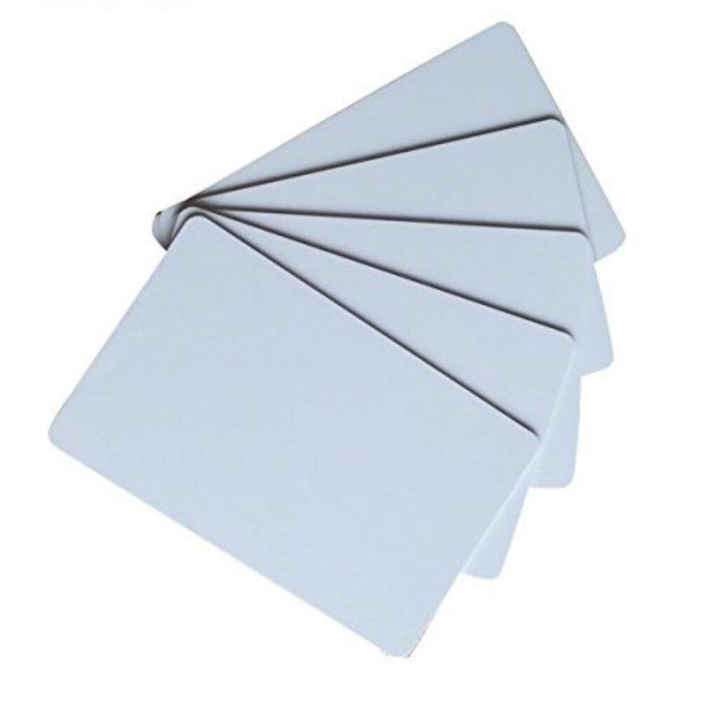 RFID 125KHz Em4305 blank white cards contactless writable rewrite smart card Plastic cards (pack of 10) evolis avansia duplex expert smart & contactless av1h0vvcbd page 10