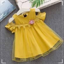 Girl Dress 2019 New Baby Dresses Flower Birthday Dress Newbo