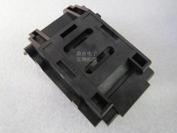 Clamshell IC51-1004-313 LQFP100 YAMAICHI IC Burning seat Adapter testing seat Test Socket test bench in stock free shipping