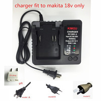 Charger Replacement For Makita Li Ion Battery 18V DC18RA DC18SE DC18RC DC18RCT BL1815 BL1830