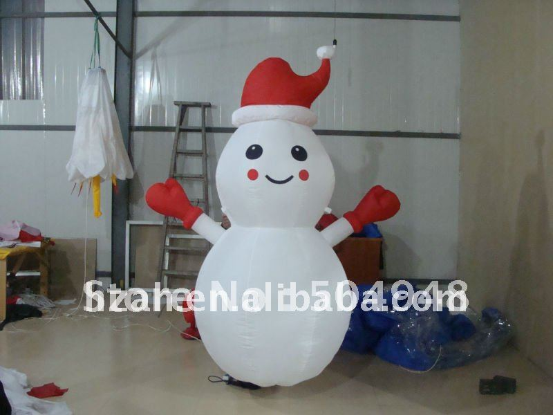 2017 Hot Selling Christmas Decoration Inflatable Snowman