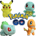 Free shipping Pokemon Pokemon Pikachu plush toy doll go Pokemon Charmander Squirtle