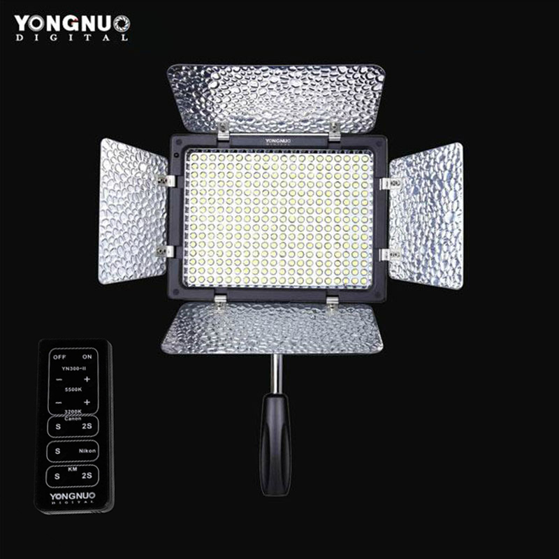 Yongnuo YN300 II YN 300 ll LED Camera Video Light Lighting w Remote Control for Canon