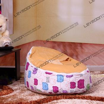 Frete grátis feijão bebê tampa saco com 2 pcs lemon up cobrir preguiçoso cadeira do saco de feijão bebê tampa de assento do bebê do miúdo cadeira