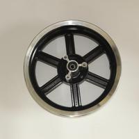 6 spoke 12 inch wheel for scooter Front Disc Aluminum Wheel Rear Drum Aluminum Wheel