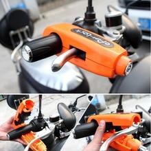 Универсальный мотоциклетный замок ручка скутера замок тормоза дроссельная заслонка Противоугонная защита замки безопасности