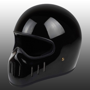 Image 3 - VCOROS Japanese TT CO full face motorcycle helmet fibe glass motorbike helmet Ghost Rider vintage racing locomotive moto helmet