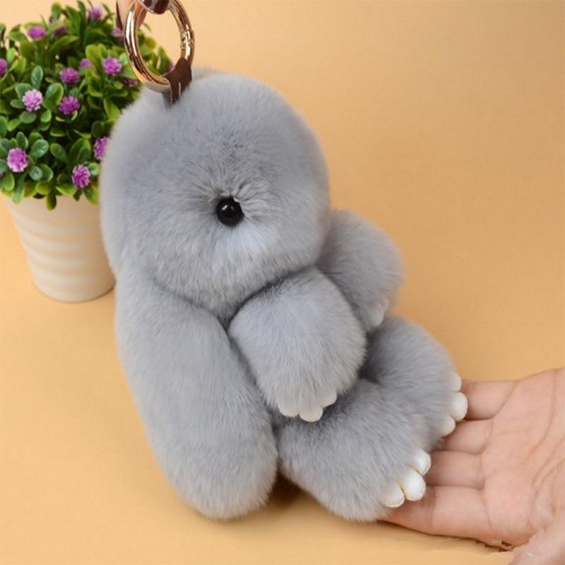 Tronzo 5 Style 15cm Kawaii Mini Rabbit Plush Keychain Soft Stuffed Bunny Car Decoration  ...