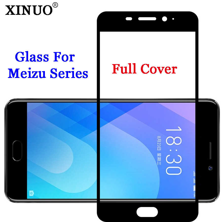 For Meizu Pro 7 Glass For Meizu M6 Note Pro 6 M5S M5 M3 Note Pro5 MX6 U10 U20 M3 Mini E2 5C Tempered Glass Screen Protective
