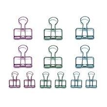 Свернуть изображение, чтобы увеличить Creoly пакет из 12 зажимов для переплетения проводов(синий, зеленый, фиолетовый)-SCLL