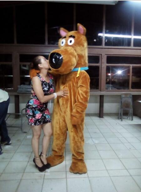 EVA Material Helm Scooby Doo Hund Maskottchen Kostüme Cartoon - Kostüme