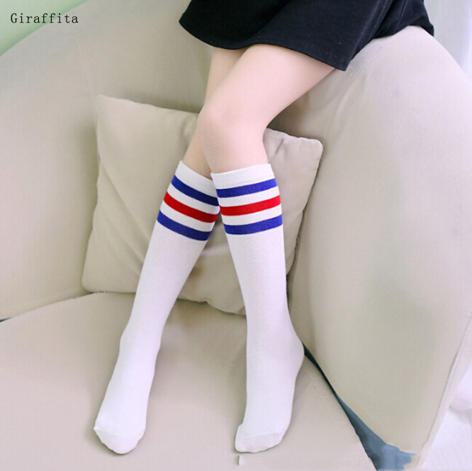 Striped Kids Dancing Stockings 35cm Girls Tights Autumn Children Clothing