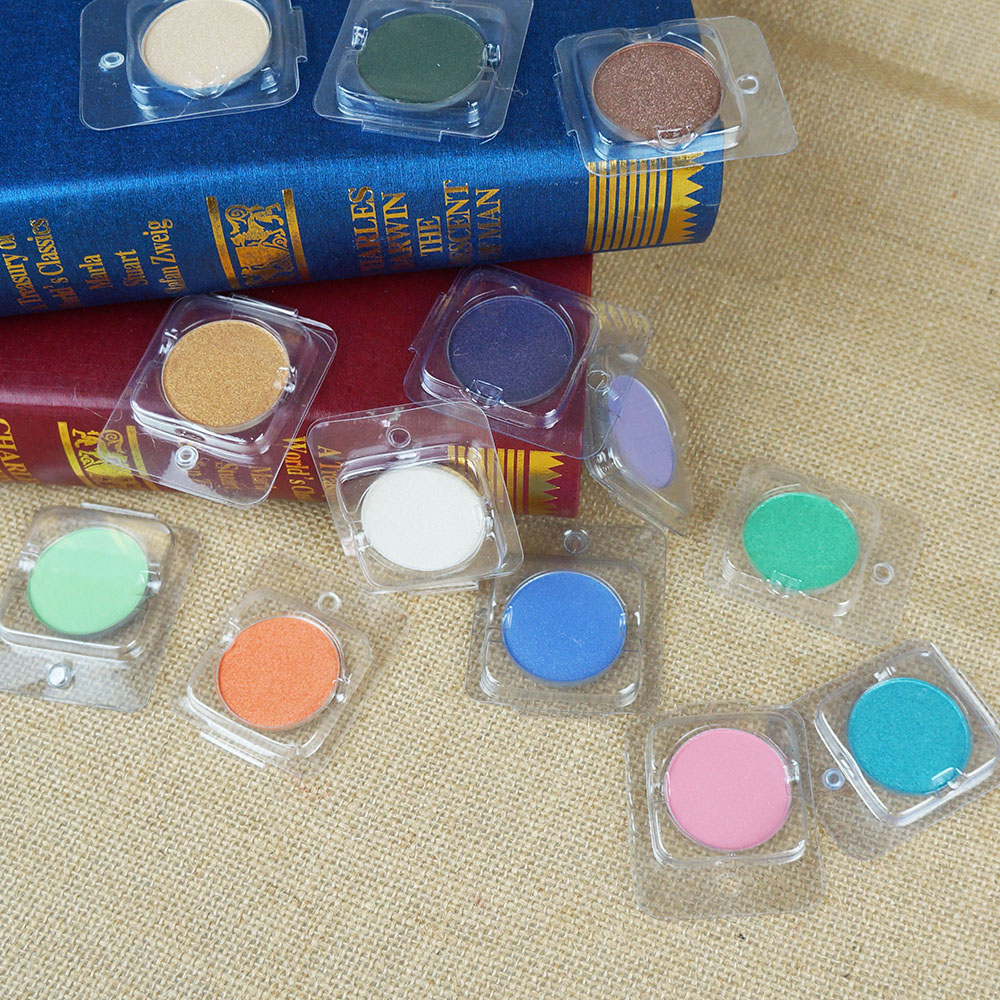 New Brand Danni Makeup Cosmetic single color  Eye Shadow Make Up shimmer  White Pink Blue golden colors Eyeshadow