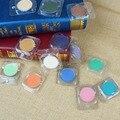 Nueva marca danni maquillaje cosmético de un solo color de sombra de ojos maquillaje shimmer blanco rosa azul de oro colores de sombra de ojos