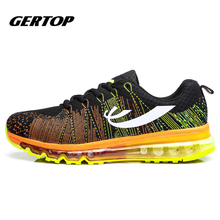 New Arrival Men Running Shoes Breathable Mesh Men Sports Shoes Super Light Lace-up Outdoor Women Athletic Sneakers