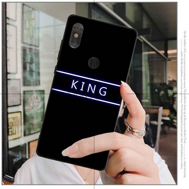 MaiYaCa Kraliçe & Kral Çift Yenilik Fundas telefon kılıfı Kapak için Huawei P9 P10 Artı Mate9 10 Mate10 Lite P20 Pro honor10