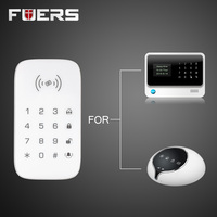 K07 Wireless RFID Touch Keyboard With 2 pcs RFID tags Password Keypad For G90B GSM Wifi Home Alarm System Security System 433MHz