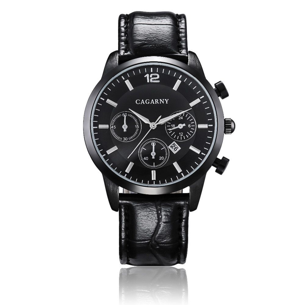 Hot Fashion Horloges Super Man Top Luxe Merk Cagarny Horloges Mannen - Herenhorloges - Foto 2