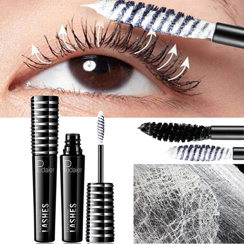 4d Faser Lash <font><b>Mascara</b></font> Basis Volumen Wimpern Verlängerung Lange <font><b>3d</b></font> <font><b>Mascara</b></font> Wimpern Wasserdicht Curling Augen Make-Up image