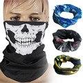 Ew Fantasma Máscara de Calavera Esqueleto Balaclava Tactical Motocicleta Transpirable Esquí Al Aire Libre Deportes Ciclismo UV Protect Skull Face Mask