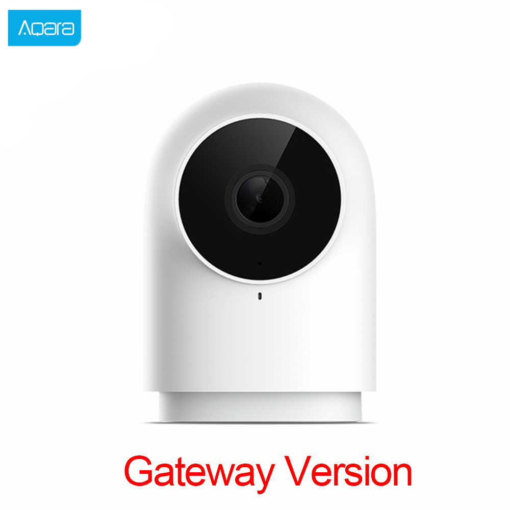 2019 Aqara 1080P Smart Kamera G2 hub Gateways Edition Zigbee Verknüpfung IP Wifi Drahtlose Cloud Home Security Intelligente Geräte-in Smarte Fernbedienung aus Verbraucherelektronik bei  Gruppe 1