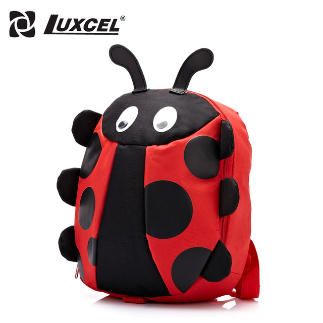 Luxcel New Arrival Animal Kid Baby Bags for anti-loss Kindergarten 3D backpack Boys Girls Cute Cartoon School Bags