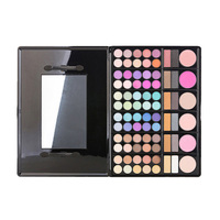 78 Color Eye Shadow Plate With Eye Shadow Lip Gloss Blush Mixed Suit
