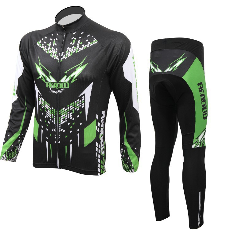 2015 cycle cycling jersey and pants sets men long sleeve bike clothing maillot roap ciclismo bicycle clothes S-3XL  2017 mavic maillot ciclismo zebra pattern men personality long sleeve cycling breathable bike bicycle clothes polyester s 6xl