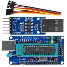 Open-smart diy atmega328p placa de desenvolvimento + ch340 usb para ttl programador para arduino uno r3