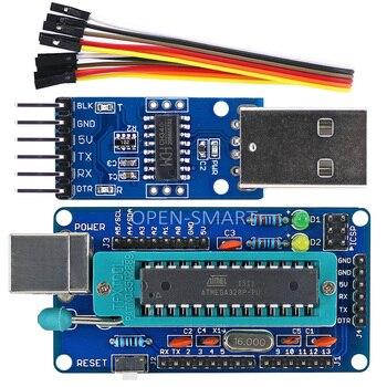 OPEN SMART diy atmega328p開発ボード+ ch340 ttlにusbプログラマarduinoのuno r3 -