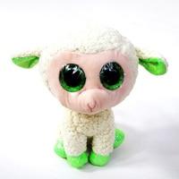 Big Eyes Plush Ty Beanie Boos Babs Sheep Lamb Plush Oys