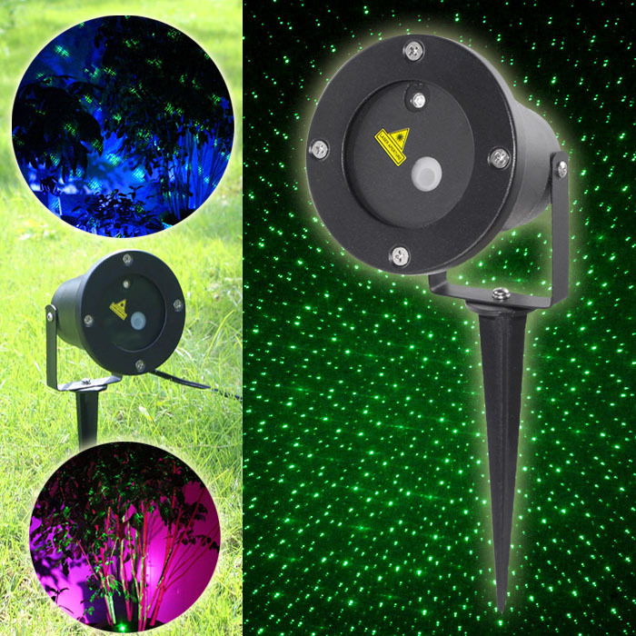 New suny outdoor indoor 9 patterns red blue laser projector suny mini outdoorindoor green firefly laser lighting projector landscape lighting show outside xmas tree garden home lighting aloadofball Image collections