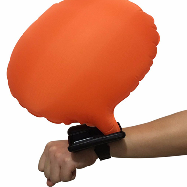 Wearable Wristband Water Safety Protect Wrist Life Buoy Escape Float Lifesaving With CO2 Air Bottles