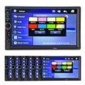 2 Din 7 ''HD Car Multimedia Player Bluetooth Rádio FM Estéreo MP3 MP4 MP5 USB AUX de Áudio e Vídeo Auto Eletrônica do Automóvel NÃO DVD
