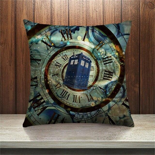 DecorUhome Doctor Who Calda Coperture per Cuscini Cuscino Cuscino del Divano Cam